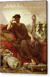 Damocles Acrylic Print by Thomas Couture