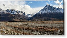Dan Creek Williams Peak Acrylic Print