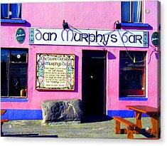 Dan Murphy's Bar Acrylic Print