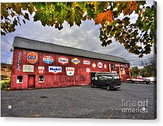 Dan S Antiques Building Acrylic Print by Dan Friend