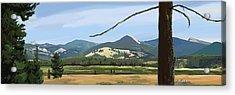 Danaher View Panorama Acrylic Print