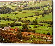 Danby Dale Yorkshire Moors Acrylic Print
