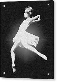 Dance - Glass Acrylic Print by Nicholas Evans