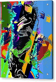 Dance 1 Acrylic Print by Jame Hayes