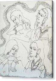 Dance-37 Acrylic Print