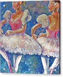 Dance Ballerina Acrylic Print by Rita Brown