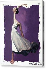 Dance For Him Acrylic Print