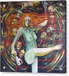 Dance For Kali Acrylic Print