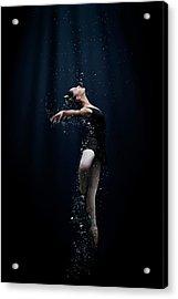 Dance In The Water Acrylic Print