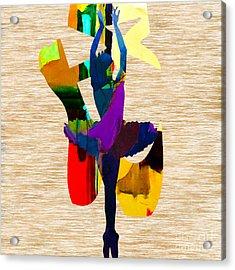 Dance Acrylic Print by Marvin Blaine