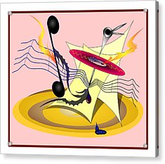 Dance Music Acrylic Print