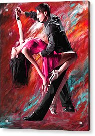 Dance Of Fire Acrylic Print