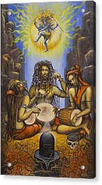 Dance Of Shiva Acrylic Print by Vrindavan Das
