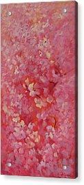 Dance Of The Cherry Blossoms Acrylic Print by Karin  Leonard