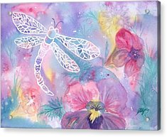 Dance Of The Dragonfly Acrylic Print