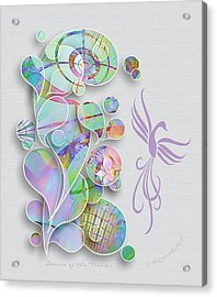 Dance Of The Fairies Acrylic Print by Gayle Odsather