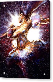 Dance Of The Nebula Acrylic Print
