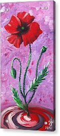 Dance Of The Poppy Acrylic Print
