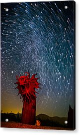 Dance Of The Star Serpent Acrylic Print