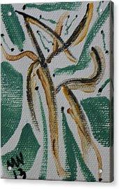 Dance Of The Woodland Fairies Acrylic Print by Maria  Wall