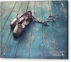 Danced Acrylic Print by Priska Wettstein