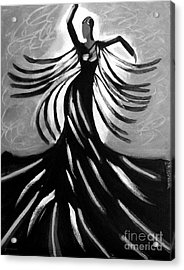 Dancer 2 Acrylic Print by Anita Lewis