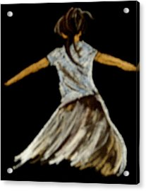 Dancer 2 Acrylic Print by Joseph Hawkins