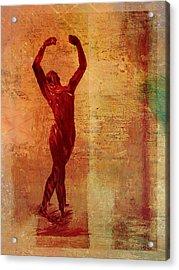 Dancer Acrylic Print by David Ridley