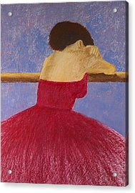 Dancer In The Red Dress Acrylic Print by David Patterson