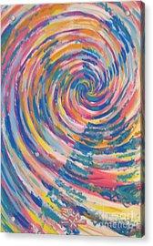 Dancer Acrylic Print by Jedidiah Morley