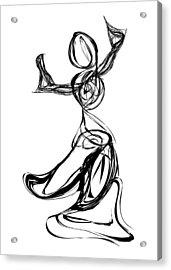 Dancer Acrylic Print by Michael Lee
