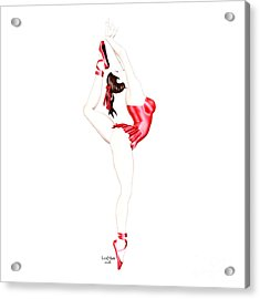 Dancer Acrylic Print by Renate Janssen