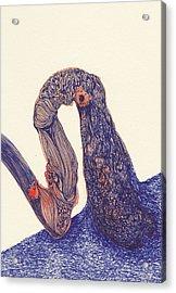 Dancer- #ss14dw012 Acrylic Print by Satomi Sugimoto