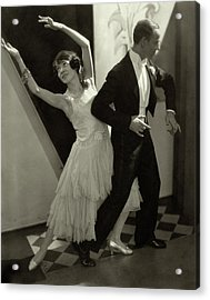 Dancers Fred And Adele Astaire Acrylic Print by Edward Steichen