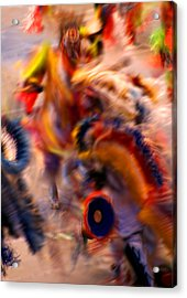 Dancers Acrylic Print by Joe Kozlowski
