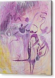 Dancers Acrylic Print by Susan Harris