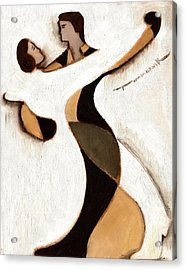 Tommervik Abstract Dancers  Art Print Acrylic Print by Tommervik
