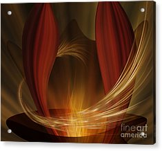 Dances With Fire Acrylic Print
