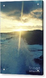 Dances With Light Acrylic Print by Deena Otterstetter