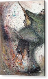 Dancin' Up A Storm Acrylic Print