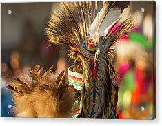 Dancing And Grand March At The North Acrylic Print by Chuck Haney