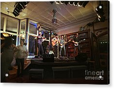 Dancing At The Purple Fiddle With Bryan Elijah Smith And The Wild Heart Band  Acrylic Print by Dan Friend