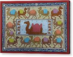 Dancing Camels Acrylic Print