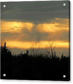 Dancing Clouds Acrylic Print