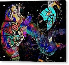 Dancing Dreams  Acrylic Print by Empty Wall