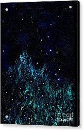 Dancing Fireflies Acrylic Print