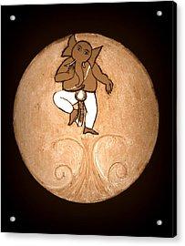 Dancing Ganesha 3 Acrylic Print