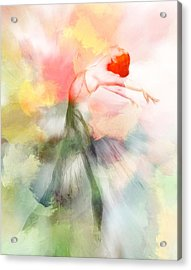 Dancing In Paradise Acrylic Print by Steve K