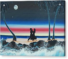 Dancing In The Dark Acrylic Print