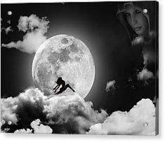 Dancing In The Moonlight Acrylic Print by Alex Hardie